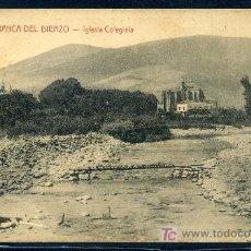 Postales: VILLAFRANCA DEL BIERZO (LEON) : ORTIZ - ASTORGA - IGLESIA COLEGIATA. Lote 22958380