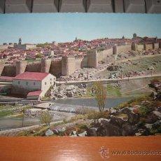 Postales: AVILA VISTA PARCIAL DE LA CIUDAD AMURALLADA . Lote 10593972
