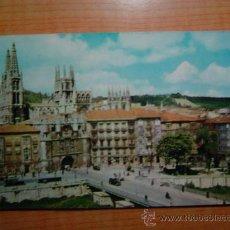 Postales: POSTAL BURGOS PUENTE Y ARCO DE SANTA MARIA CIRCULADA. Lote 11068733