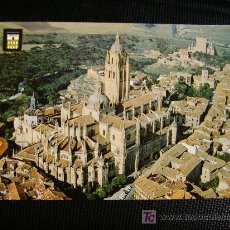 Postales: SEGOVIA,VISTA AEREA DE LA CATEDRAL. Lote 11246264