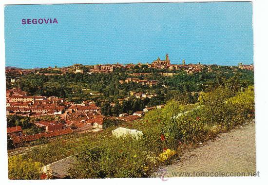 209 - SEGOVIA - VISTA GENERAL (Postales - España - Castilla y León Moderna (desde 1940))