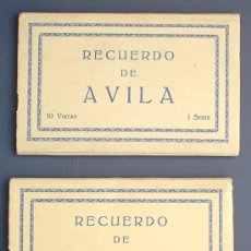 Postales: RECUERDO DE ÁVILA. I Y II SERIE. 10 VISTAS POR SERIE. M. ARRIBAS.. Lote 21585552