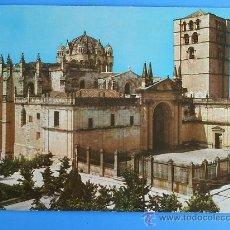 Postales: POSTAL DE ZAMORA ( LA CATEDRAL). AÑOS 60.. Lote 12351948