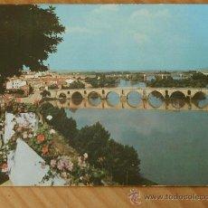 Postales: POSTAL DE ZAMORA (PUENTE ROMÁNICO SOBRE EL DUERO ) AÑOS 60.. Lote 12373472