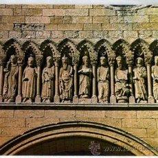 Postal Ciudad Rodrigo Catedral Fachada Los doce apóstoles fachada 1966