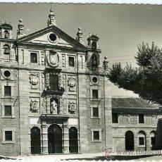 Postales: POSTAL AVILA FACHADA PRINCIPAL CONVENTO DE SANTA TERESA. Lote 13145317