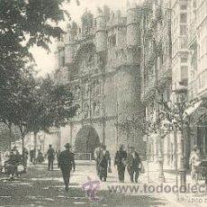 Postales: BURGOS. ARCO DE SANTA MARIA – FOTOTIPIA DE HAUSER Y MENET. MADRID. Lote 25212580