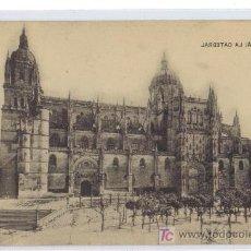 Postales: SALAMANCA - LA CATEDRAL -- J.C.COLÓN - FOTOTIPIAS DE HAUSER Y MENER. Lote 26313702