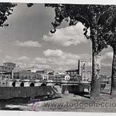 Postales: PALENCIA. PUENTE MAYOR Y SAN MIGUEL. ED. SICILIA Nº 42. CIRCULADA. Lote 13951685