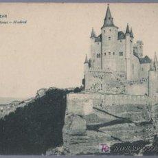 Postales: TARJETA POSTAL ANTIGUA DE SEGOVIA. ALCAZAR. Nº614. HAUSER Y MENET. Lote 14054131