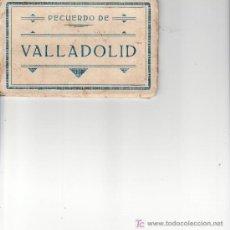 Postales: RECUERDO DE VALLADOLID.DESPLEGABLE DE 10 POSTALES.EDICIONES M. ARRIBAS.. Lote 22886614