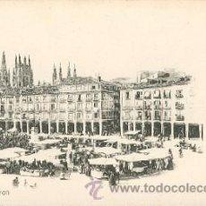 Postales: BURGOS – PLAZA MAYOR – COLECCIÓN D'ASLOC . Lote 25144382