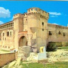 Postales: CASTILLOS DE ESPAÑA . CUELLAR - EL CASTILLO. Lote 18285097