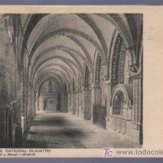 Postales: TARJETA POSTAL DE BURGOS. CATEDRAL, CLAUSTRO. 1333. HAUSER Y MENET.. Lote 14478753