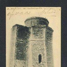 Postales: POSTAL DE ALBA DE TORMES (SALAMANCA): FACHADA PRINCIPAL DEL CASTILLO DUCAL HAUSER Y MENET). Lote 14641586