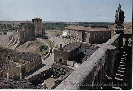 PALENCIA. CARRION DE LOS CONDES. VISTA PARCIAL Y SANTUARIO. ED. POSTAL INTER. AÑO 1966. ESCRITA (Postales - España - Castilla y León Moderna (desde 1940))