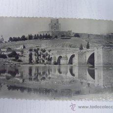 Postales: CIUDAD RODRIGO (SALAMANCA) - PUENTE ROMANO SOBRE EL RIO AGUEDA. Lote 24360229