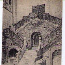 Cartes Postales: BURGOS. CATEDRAL; ESCALERA DE LA CORONERÍA. HAUSER Y MENET 1372.. Lote 14765313