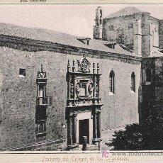 Postales: SALAMANCA.- FACHADA DEL COLEGIO DE LOS IRLANDESES. ANTERIOR A 1906.. Lote 14894809