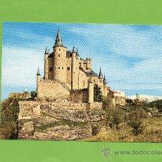 Postales: CASTILLOS DE ESPAÑA. ALCÁZAR DE SEGOVIA. SIN CIRCULAR. PRECIOSA!!. Lote 27256055