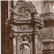 Postales: POST 148 - POSTAL NO CIRCULADA: CATEDRAL DE ÁVILA - ALTAR DE SANTA CATALINA (LUCAS GIRALDO). Lote 26285122