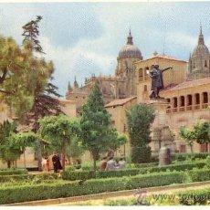 Postales: POST 149 - POSTAL NO CIRCULADA: 9 SALAMANCA - PLAZA DE COLÓN - MANEN. Lote 15134822