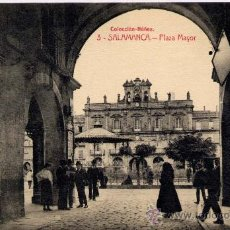 Postales: SALAMANCA.-PLAZA MAYOR. Lote 15149487