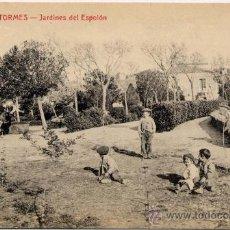 Postales: ALBA DE TORMES.- JARDINES DEL ESPOLÓN. Lote 15150168