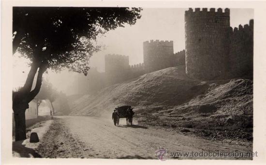 ÁVILA.-MURALLAS (Postales - España - Castilla y León Antigua (hasta 1939))