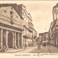 Postales: CIUDAD RODRIGO(SALAMANCA).- RUA DEL SOL. Lote 15160028
