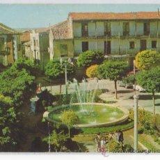 Postales: TARJETA POSTAL DE ROA DE DUERO PLAZA MAYOR BURGOS. Lote 15168423