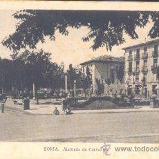 Postales: SORIA.-ALAMEDA DE CERVANTES. Lote 15245274