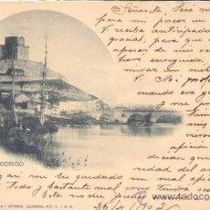 Postales: CIUDAD RODRIGO.-VISTA DEL RIO. Lote 15426626