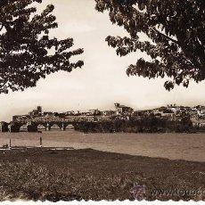 Cartoline: ZAMORA.- RIO DUERO Y VISTA PARCIAL.- ED. GARRABELLA.- AÑOS CINCUENTA. Lote 15438374