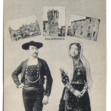 Postales: POSTAL TIPOS SALAMANCA, EDITOR J. ROIG . Lote 27089010