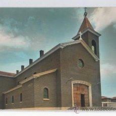 Postales: TARJETA POSTAL DE GUARDO IGLESIA DE SANTA BARBARA PALENCIA. Lote 15604175