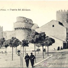 Postales: ÁVILA.-PUERTA DEL ALCÁZAR. Lote 15610263