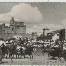 Postales: (PS-13719)POSTAL DE TUREGANO(SEGOVIA)-TOROS EN LA PLAZA DE LAPAÑA. Lote 15782753