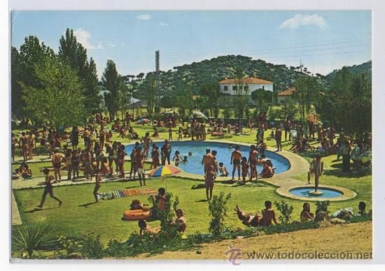 Tarjeta postal de hoyo de pinares piscina munic comprar for Piscina municipal avila