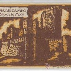Postales: TARJETA POSTAL DE MEDINA DEL CAMPO CASTILLO DE LA MOTA VALLADOLID. Lote 16323793