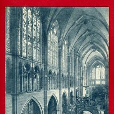 Postales: LEON, CATEDRAL, NAVE CENTRAL P32785. Lote 16330771