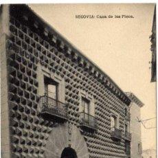 Postales: BONITA POSTAL - SEGOVIA - CASA DE LOS PICOS . Lote 16492108