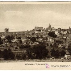 Postales: BONITA POSTAL - SEGOVIA - VISTA GENERAL . Lote 16622571