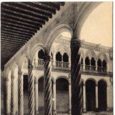 Postales: BONITA POSTAL - VALLADOLID - INTERIOR DEL PATIO DE SAN GREGORIO . Lote 16689958