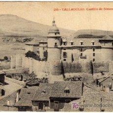 Postales: BONITA POSTAL - VALLADOLID - CASTILLO DE SIMANCAS . Lote 16690144