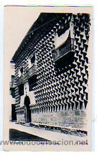 SEGOVIA. NUM 10. CASA DE LOS PICOS .ED. ARRIBAS. SIN CIRCULAR. (Postales - España - Castilla y León Moderna (desde 1940))