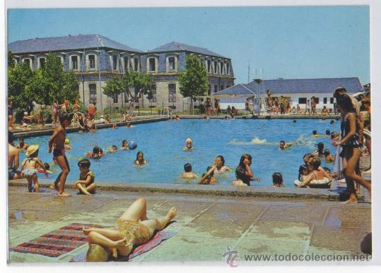 Tarjeta postal de piedrahita piscina municipal comprar for Piscina municipal avila