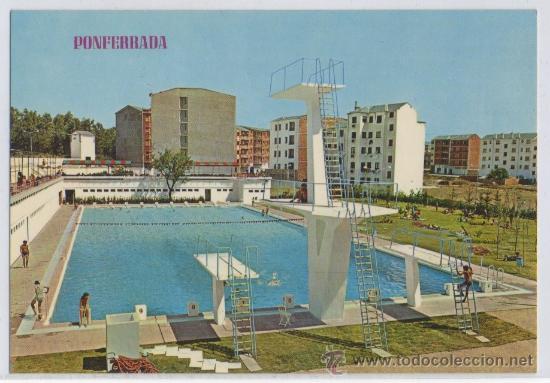 Tarjeta postal de ponferrada piscina club de te comprar for Piscinas ponferrada