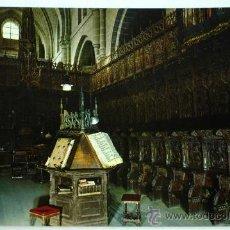 Postal Zamora Catedral Coro