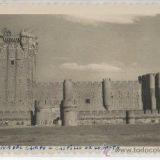 Postales: TARJETA POSTAL DE MEDINA DEL CAMPO CASTILLO DE LA MOTA ENTRADA VALLADOLID. Lote 17776617